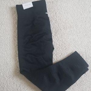 Aerie black seamless leggings